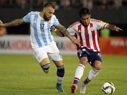 Argentinien stolpert auch über Paraguay