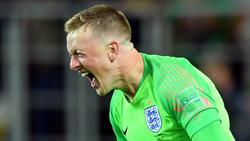 Die Engländer stehen auch dank Torwart Jordan Pickford im WM-Viertelfinale