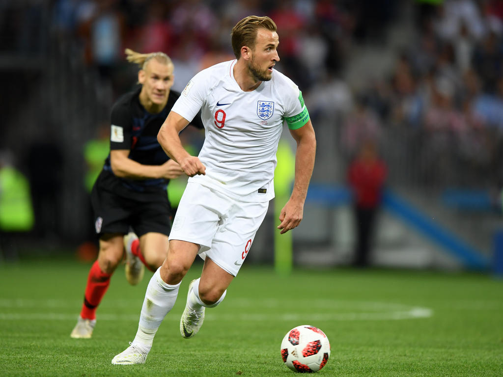 Kane fue el gran 'ausente' en el duelo con Croacia. (Foto: Getty)