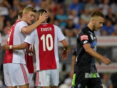 El Ajax eliminó al Sturm Graz austríaco (2-0, 1-3). (Foto: Getty)