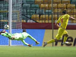 Andrei Ivan trifft nach einer knappen Stunde gegen Portugals U21. © Imago/GlobalImagens