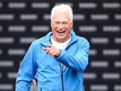 Toni Polster hat nach dem Aufstieg der Wiener Viktoria gut lachen