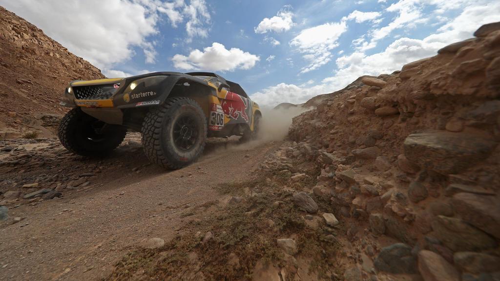 Sebastien Loeb gewann die fünfte Etappe der Rallye Dakar