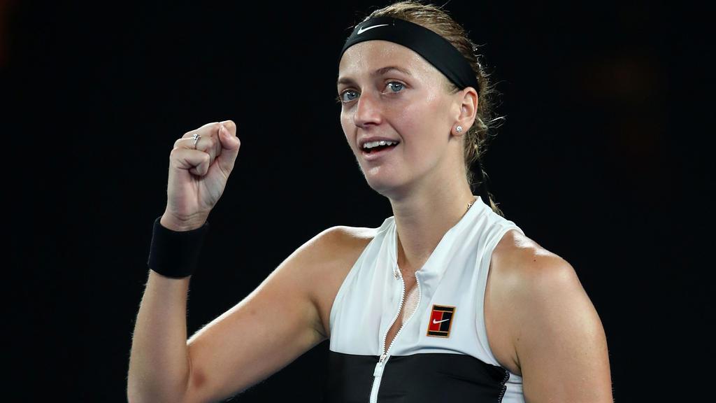 Petra Kvitova will im Finale der Australian Open erfolgreich sein
