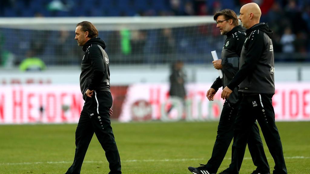 Thomas Doll und Hannover 96 stehen unter großem Druck
