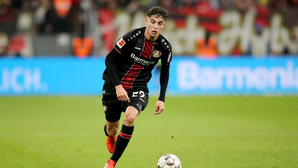 Kai Havertz soll vor einem Wechsel zum FC Bayern stehen