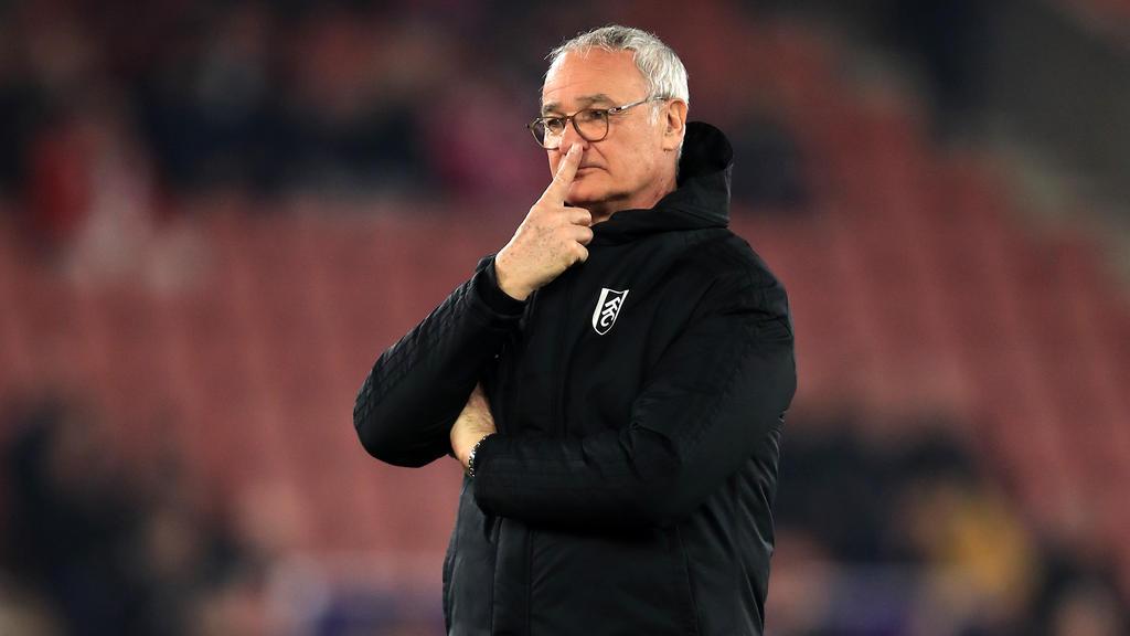Claudio Ranieri wird neuer Trainer von AS Rom