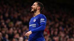 Eden Hazard steht vor einem Wechsel nach Madrid
