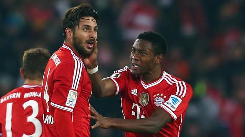 Man kennt sich aus München: David Alaba (re.) und Claudio Pizarro