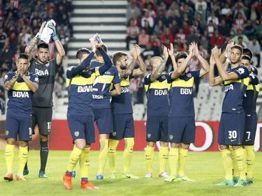 Boca Jumiors sumó así su título liguero número 32. (Foto: Imago)