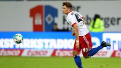 Fiete Arp gilt als größtes Sturmtalent beim HSV