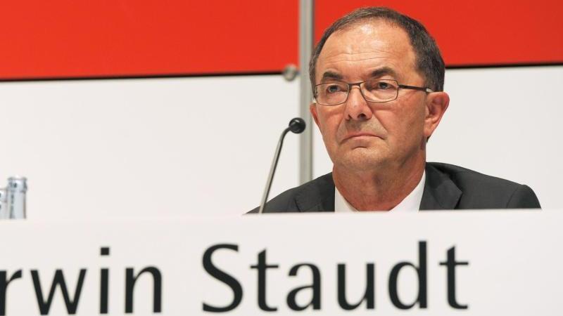 Erwin Staudt war von 2003 bis 2011 Präsident des VfB Stuttgart