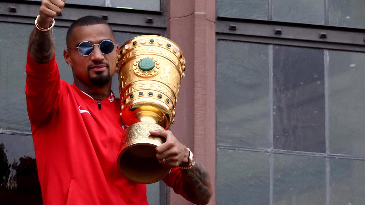 Kevin-Prince Boateng führte Eintracht Frankfurt zum Sieg des DFB-Pokals