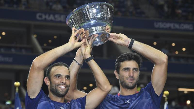 Juan Sebastian Cabal (l.) und Robert Farah aus Kolumbien gewinnen die US Open