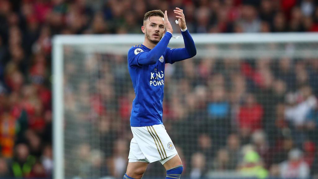 James Maddison podría despedirse del Leicester en breve.