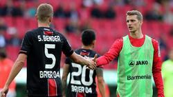 Bayer Leverkusen ohne Lars Bender gegen Gladbach