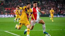 Der FC Barcelona setzte sich gegen Slavia Prag durch