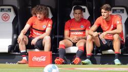 Rodrigo Zalazar (M.) steht vor einem Wechsel von Eintracht Frankfurt zum FC Schalke 04