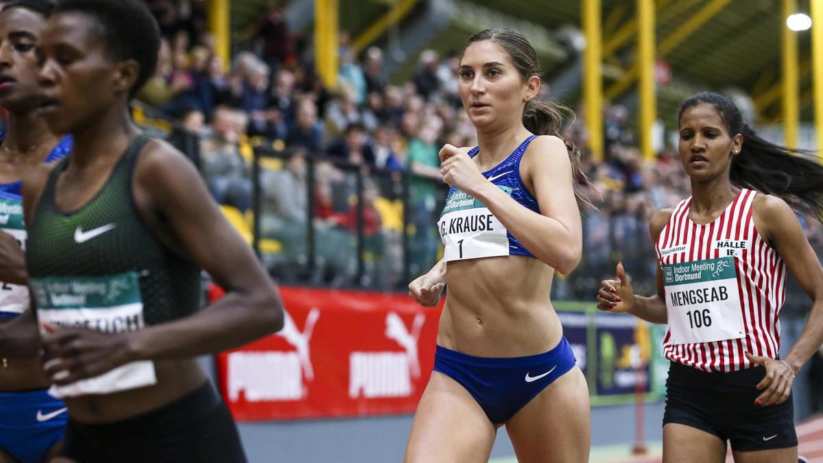 Lief zum Start ins Olympiajahr in Dortmund auf Rang vier: Gesa Krause