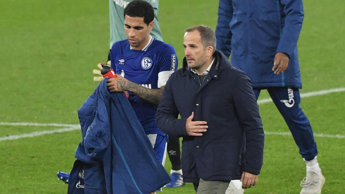 Manuel Baum holt mit Schalke den ersten Punkt