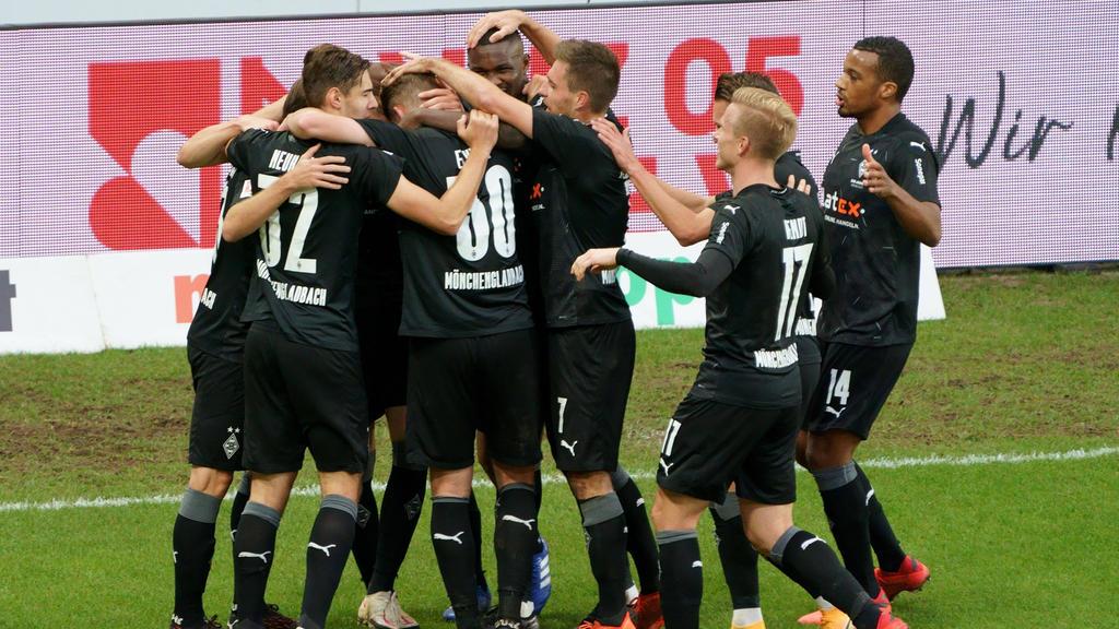 Die Gladbacher drehten die Partie in Mainz