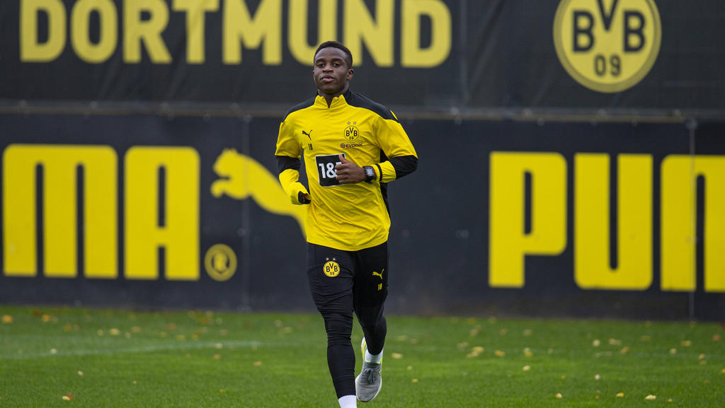 Youssoufa Moukoko kann erst mit 16 Jahren für den BVB Champions League spielen