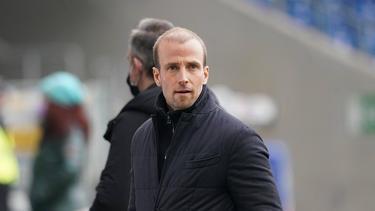 Sebastian Hoeneß ist Trainer der TSG Hoffenheim