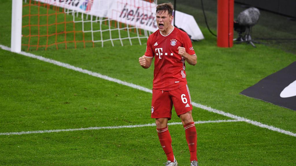 Joshua Kimmich hat den nächsten Sieg gegen den BVB fest im Blick