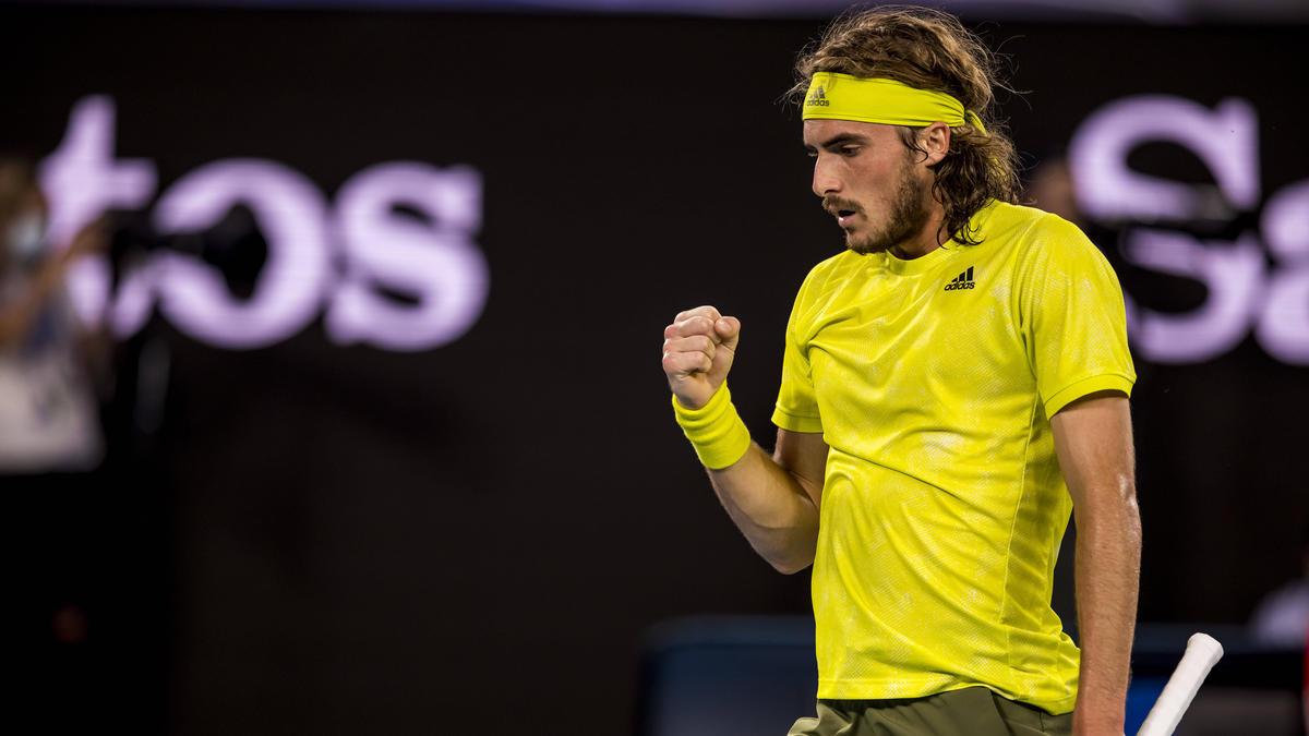 Stefanos Tsitsipas steht im Halbfinale der Australian Open