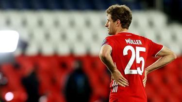 Thomas Müller und der FC Bayern sind aus der Königsklasse ausgeschieden