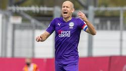 Ex-Bayern-Star Arjen Robben steht endlich wieder auf dem Platz