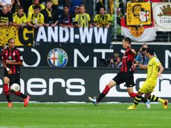 Wollen beide ins Halbfinale: Eintracht Frankfurt empfängt Borussia Dortmund