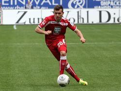 Kevin Stöger erzielte sein erstes Tor für den 1. FC Kaiserslautern