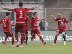 Jubel beim FC Vaduz