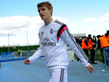 Ødegaard durante la pretemporada con el Real Madrid. (Foto: Getty)