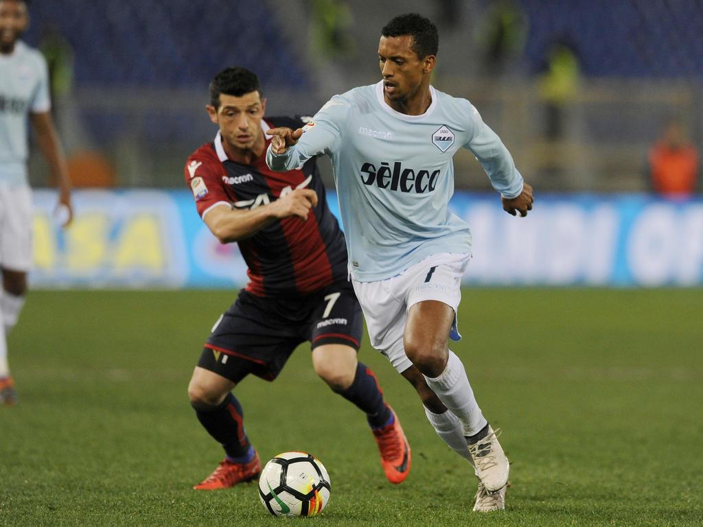 Nani jugó la última temporada cedido en la Lazio de la Serie A. (Foto: Getty)
