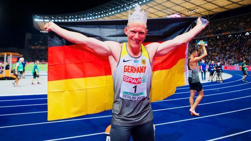 Arthur Abele feierte bei der Heim-EM den größten Erfolg seiner Karriere