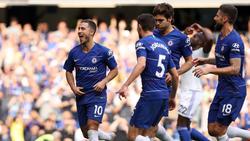 Eden Hazard ist beim FC Chelsea in Gala-Form
