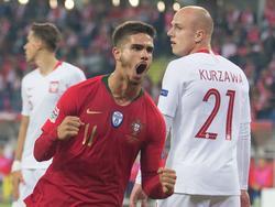 El delantero del Sevilla André Silva también brilla con la selección. (Foto: Getty)