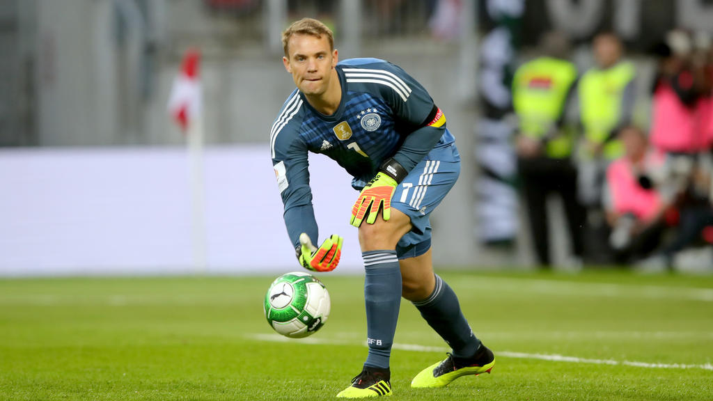 Manuel Neuer ist seit der WM 2010 Stammtorwart beim DFB