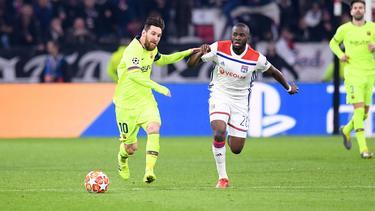 FC Barcelona mit Problemen bei Olympique Lyon