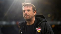 Markus Weinzierl und der VfB Stuttgart stecken noch immer im Abstiegskampf