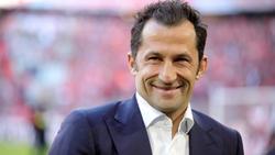 Hasan Salihamidzic konnte sich vor Lachen kaum halten