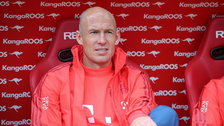 Arjen Robben wurde beim FC Bayern zur Legende