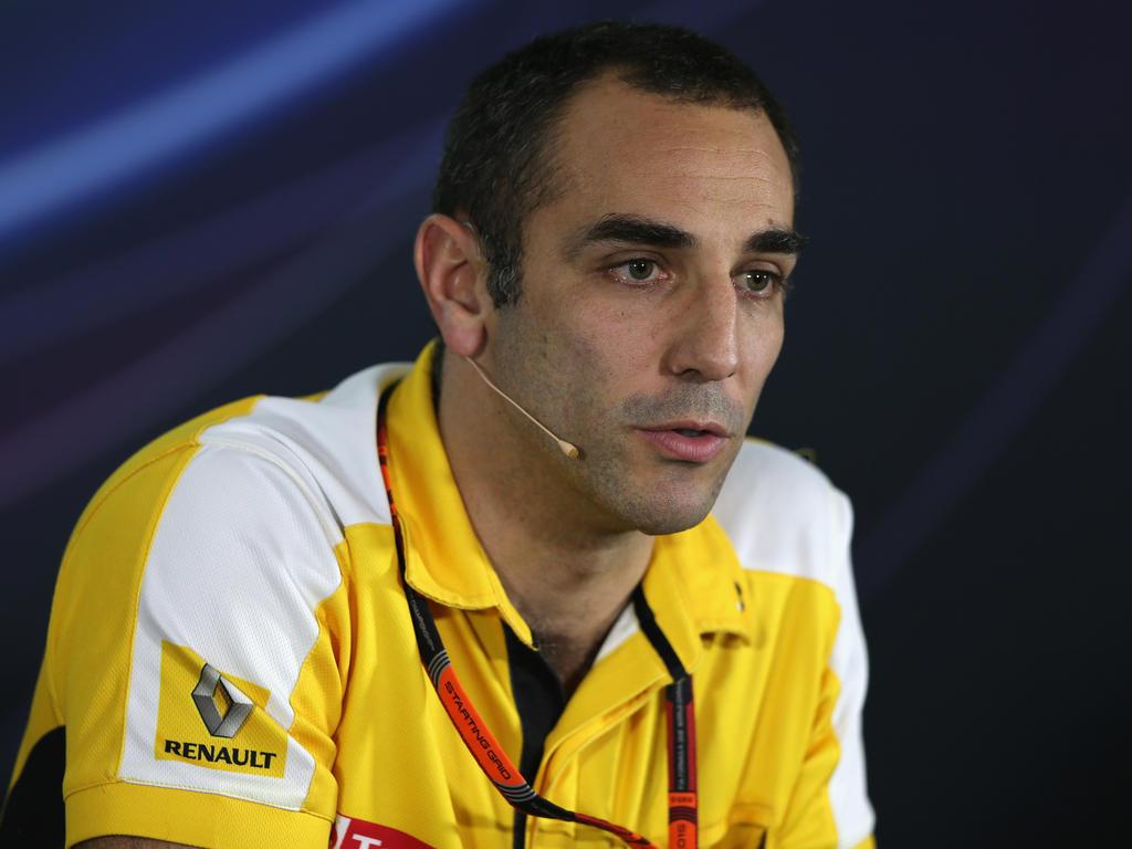 Kann Cyril Abiteboul das Renault-Team wieder nach oben führen?