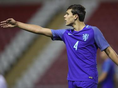 Hoffenheims Neuzugang Justin Hoogma im Trikot der Niederländischen U20-Nationalmannschaft