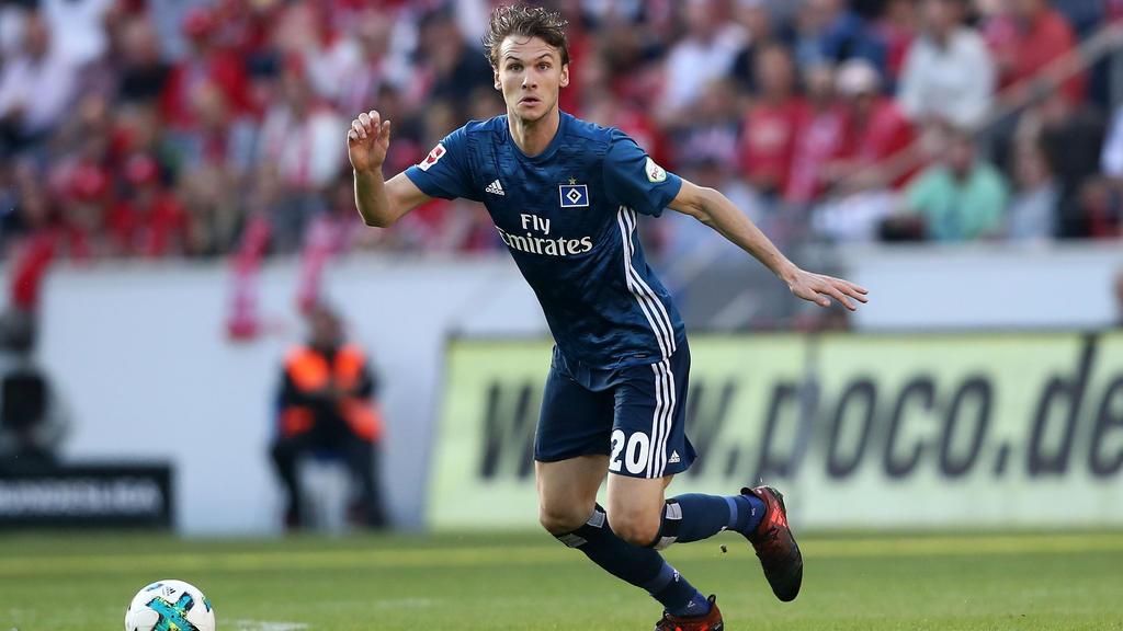Albin Ekdal steht beim Hamburger SV vor dem Absprung