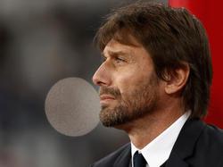 Antonio Conte en el duelo Champions contra el Qarabag. (Foto: Getty)