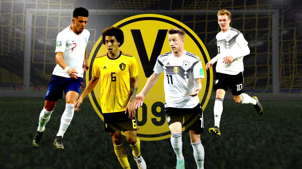Die BVB-Stars sind auf Länderspielreise