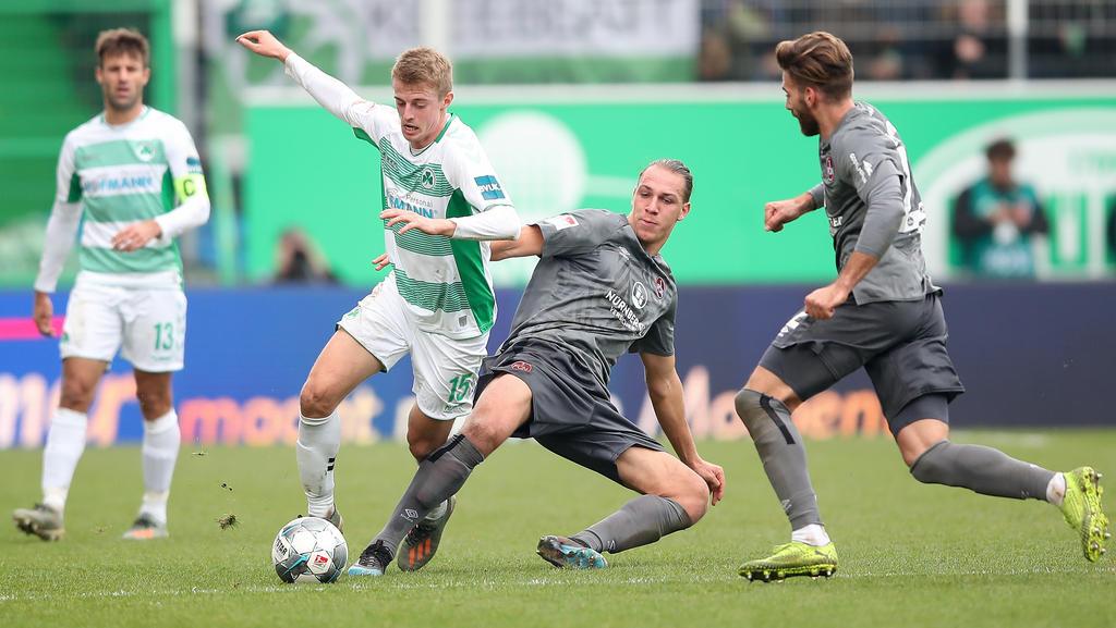 Greuther Fürth und der 1. FC Nürnberg trennten sich torlos